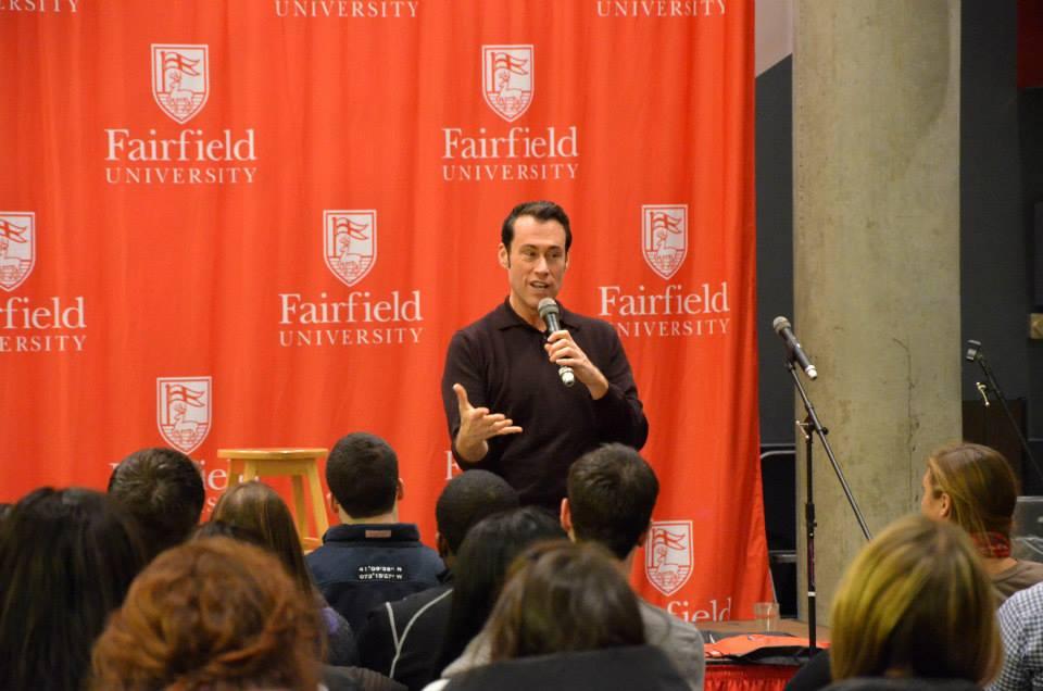 Michael Miller Speaks - Fairfield U
